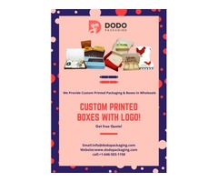 Increase Your Sale By Using Our Custom Printed Boxes With Logo!