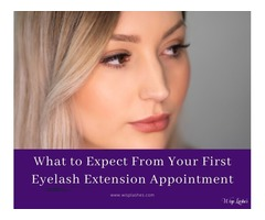 What to Expect From Your First Eyelash Extension Appointment