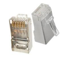 Buy RJ45 Plugs for Cat 5e, Cat 6, Cat 6A
