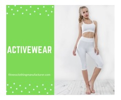 Get The Best Blank Gym Clothes Galore From Fitness Clothing Manufacturer!
