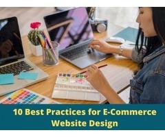 10 E-Commerce Website Design Best Practices to Increase Conversations