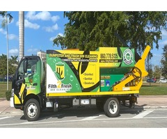 Dumpster cleaning truck for sale