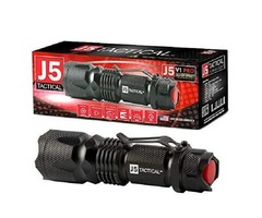 J5 Tactical V1-PRO Flashlight – The Original 300 Lumen Ultra Bright, LED Mini 3 Mode Flashlight
