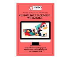 Use Best Quality Custom Soap Boxes To Attract Your Customers!