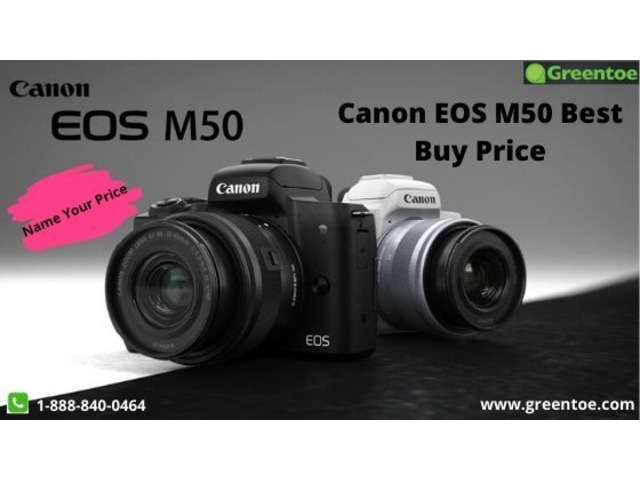 Best Price Buy Canon EOS M50 Camera With Warranty | Greentoe | free-classifieds-usa.com