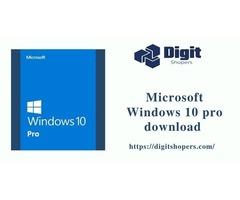 Microsoft Windows 10 Pro download