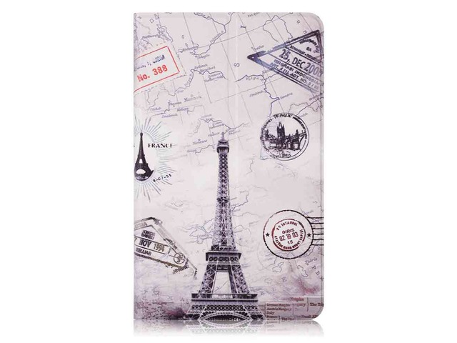 Iron Tower Painting Tablet Case for 8 Inch Xiaomi Mipad 4 | free-classifieds-usa.com