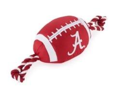 NCAA Alabama Crimson Tide Plush Football Dog Toy
