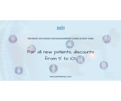 Discount For All New Patients From Pain Physicians NY