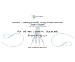 Discount For All New Patients From Stem Cell Therapy