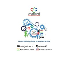 Mobile app development company USA W3care