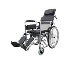 Sit and Sleep Comfortably on Reclining Back Manual Wheelchairs