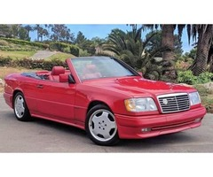 ONE-OF-A-KIND - 1994 Mercedes-Benz A124 Sportline/AMG Cabriolet