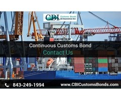 Requirement for Obtaining Continuous Customs Bond