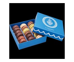 Get Trendy Custom Macaron Boxes Wholesale | Custom Macaron Packaging!