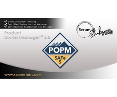Product Owner | Product Manager | POPM |  Professional Trainers  | Scrum Stubs |