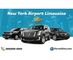 Quality New York Airport Limousine only @ Carmellimo