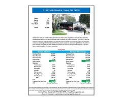 4 BR House For Sale - 213 E 54th Street N, Tulsa, OK 74126