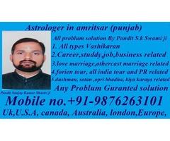 vashikaran specialist astrologer in U.S.A +91-9876263101