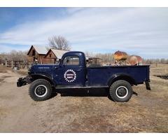 1949 Dodge Power Wagon B-1 PW126