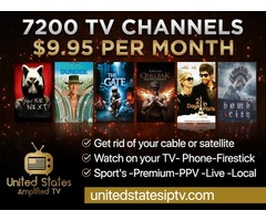 7200 Live TV Channels $9.95/mo