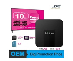 TX3 Mini Android 7.1 TV Box 2GB 16GB Amlogic S905W Android IPTV Box HD 4K Streaming Media Player Bet