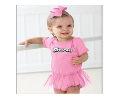 Made in Detroit Bubble - Onesie - Pink or Black