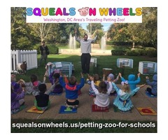 Best Petting Zoo Daycare in NW Washington - Squeals On Wheels