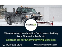 Commercial and residential snow removal services in NJ