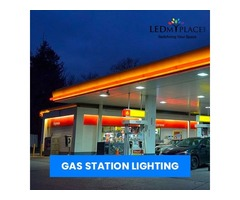 Buy Energy Efficient LED Gas Station Lighting On Sale