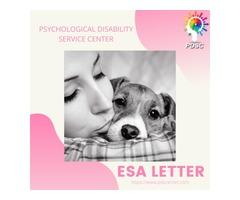 Emotional support animal letter sample