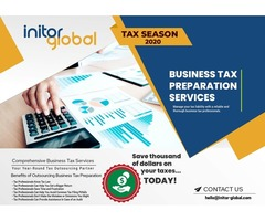 Business tax services help companies save money and time