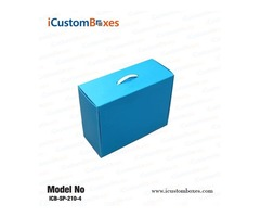 Buy The boxes related cardboard box with handle in USA