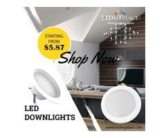 Use LED Downlights High Energy Savings Lights