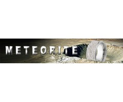 Meteorite Engagement Ring-The Jewelry Source.Net-Jewelry