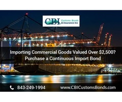 Contact Us for Continuous Import Bond Services