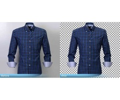 We are providing clothing images clipping path services