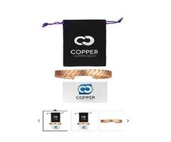 Copper Compression Twisted Copper Bracelet for Arthritis | free-classifieds-usa.com