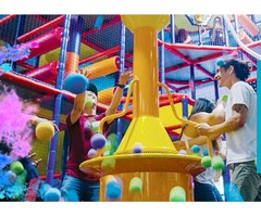 Kids admission at Kids World for awesome indoor play spaces
