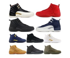 12 CNY OVO Wool Gym Red Dark Grey Flu Game The Master Gamma French Blue 12S Men Basketball Shoes Sne