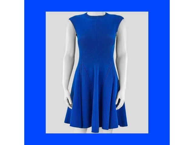 Buy Victoria Beckham Royal Blue Women Silhouette Dress   free-classifieds-usa.com