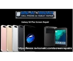 Get your Galaxy S8 Plus Screen Repair at Lowest cost with Re-konekt