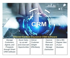 Choose the best Insurance CRM Software For Insurance Agents