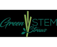 Natural Wheat Drinking Straws | Grass Straws | Green Stem straws