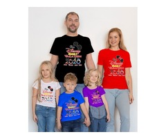 Buy customized family vacation t-shirts