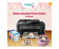 Print Edible Images like professionals on your cakes with Icinginks Edible Printers