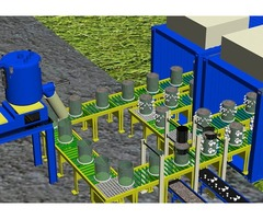 Machine to make rubber molding| tire recycling plant