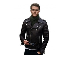 Shop Genuine Leather Jackets at Best Price Online From Shopperfiesta