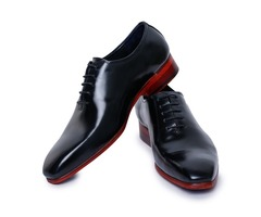 Buy Handmade Leather Wholecut Oxford Shoes for Men from Lethato