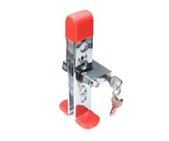 Universal Car Alarm System Auto Brake Clutch Throttle Steering Wheel Lock Anti-theft Security